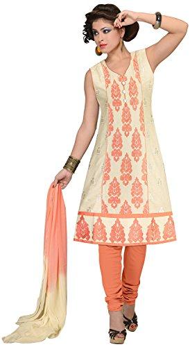 Elan Vital Women's Cotton Straight Salwar Suit - B0188YGF1M