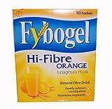Fybogel Hi-Fibre Orange Drink 10 Sachets - Gently Relieves Constipation