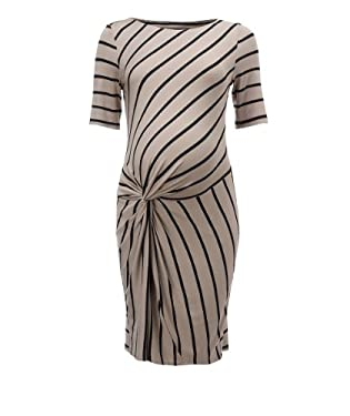 Blooming Marvellous Maternity Stripey Knot Detail Dress