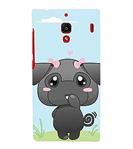 EPICCASE Baby Elephant Mobile Back Case Cover For Xiaomi RedMi 1S (Designer Case)