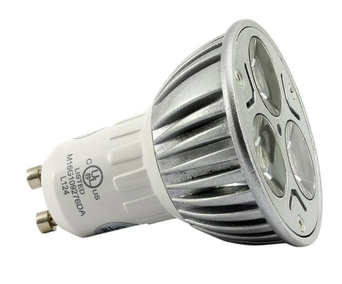 Genuine Great Eagle Led Mr16 Gu10 120V Warm White Bulb. 50W Equivalent Ul Certified 2700K 60° Fully Dimmable Flood Light For Recessed And Track Lighting Fixtures - 5 Year Warranty Backed By Usa Seller.
