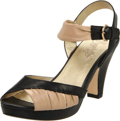 Seychelles Women's Coulda Danced All Night Open-Toe Pump,Black,9.5 M US