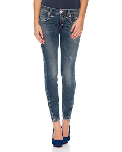 Fornarina Jeans Lauren Strech Denim [Blu]
