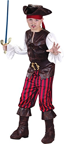 High Seas Buccaneer Boy Child Costume (Medium)
