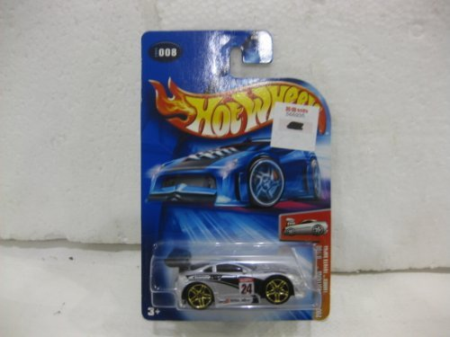 2004 First Edition #8 Of 100 'Tooned Toyota Supra In Silver Diecast 1:64 Scale Collector #8 By Hot Wheels - 1