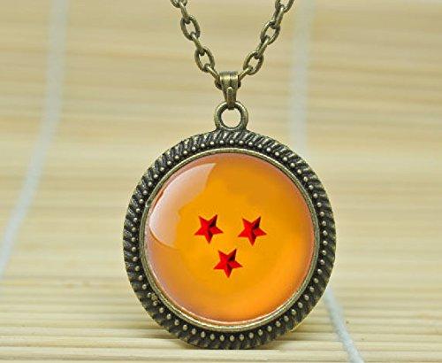 sunshine-day-fashion-necklace-dragon-ball-z-3-star-necklace-dragon-ball-inspired-pendant-glass-caboc