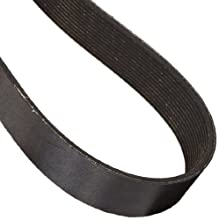 "Goodyear Engineered Products 975L13 Poly-V Belt, 13 Ribs, 0.38"" Height, 0.185"" V-Width, 97.5"" Nominal Outside Length"