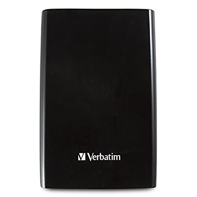 Verbatim 1 TB Store 'n' Go Portable Hard Drive, USB 3.0, Black 97395