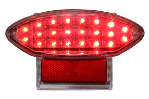 1999-2007 Suzuki Gsx1300R Hayabusa 2003-2006 Katana Integrated Sequential Led Tail Lights Clear Lens
