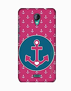 PickPattern Back Cover for Micromax A106 Unite 2