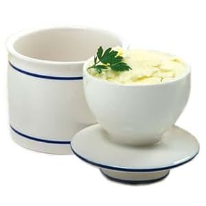 Norpro Butter Keeper, White