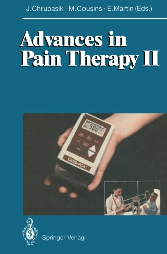 Advances In Pain Therapy Ii (Bk. 2)