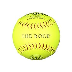 Buy 1 Dozen ASA Trump The Rock 11 Softballs - 44cor .375 Compression (MP-ROCK-ASA-11-Y)... by Trump/Evil Sports