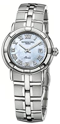 Raymond Weil Women's 9441-ST-00908 Parsifal Mother-Of-Pearl Dial Watch