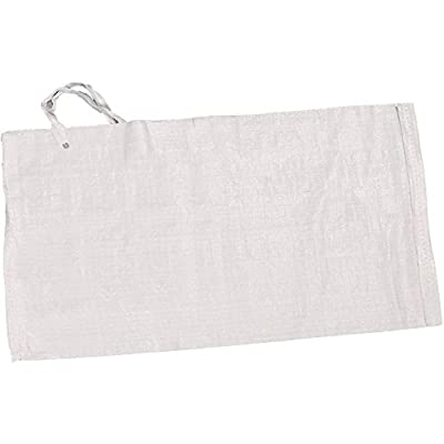 Sand Bags, Empty White Woven Polypropylene Sandbags With UV Coating Protection, Ties Included, Waterproof, Dust Proof. (Available in 3 sizes)