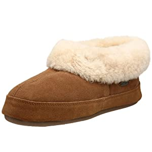 ACORN Women's Oh Ewe II Slipper,Walnut,7 M US