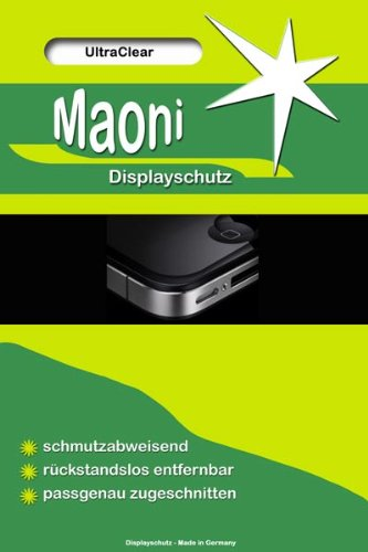 6x Maoni Ultra Clear Standard Display Schutzfolie passend f&#252;r Nintendo DS-Lite