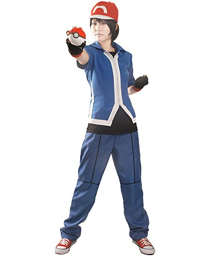 Men's Pokemon Ash Ketchum Halloween Costume