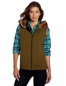 Marmot Women's Furlong Vest, Dark Olive, Large