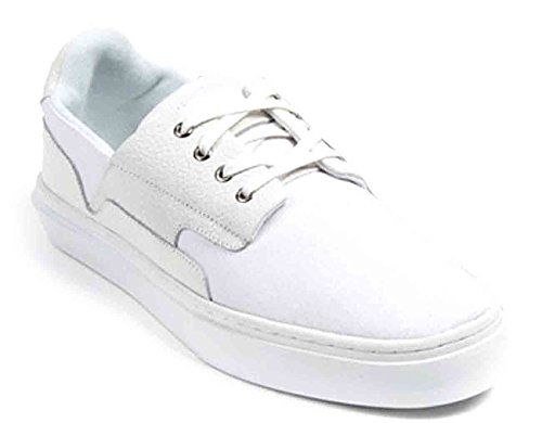 Clear Weather Eighty White Canvas Size 9 US