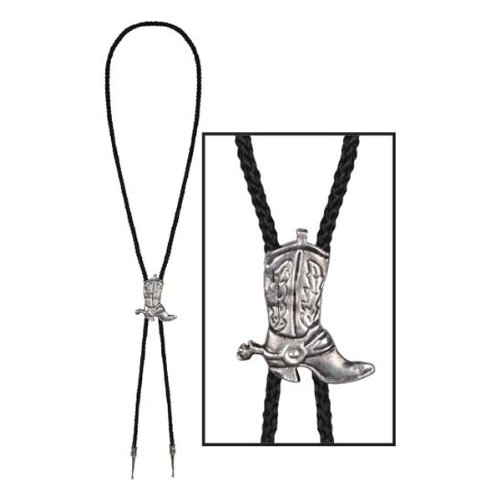 Western Bolo Tie Party Accessory (1 count) (1/Pkg)