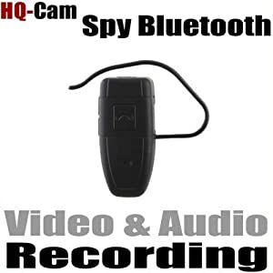HQ-Cam CCTV Security Surveillance Spy Bluetooth Recorder Video/Audio 4GB Memory