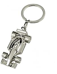 MM Racing Car Desing Heavy Metal  Double Side Keychain For Cars And Bikes
