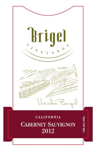 Brigel Vineyards  2012 Cabernet Sauvignon 750 mL