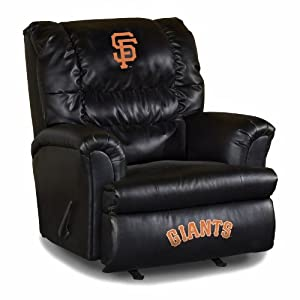 MLB San Francisco Giants Big Daddy Leather Recliner by Imperial