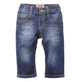 Levi's Baby Boys' Elastic Waist Straight Leg Jeans