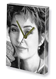 ANNIE POTTS - Canvas Clock (A4 - Signed by the Artist) #js001