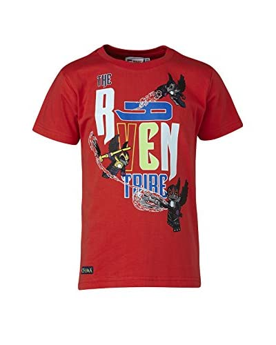 LEGO Wear T-Shirt Manica Corta [Rosso]