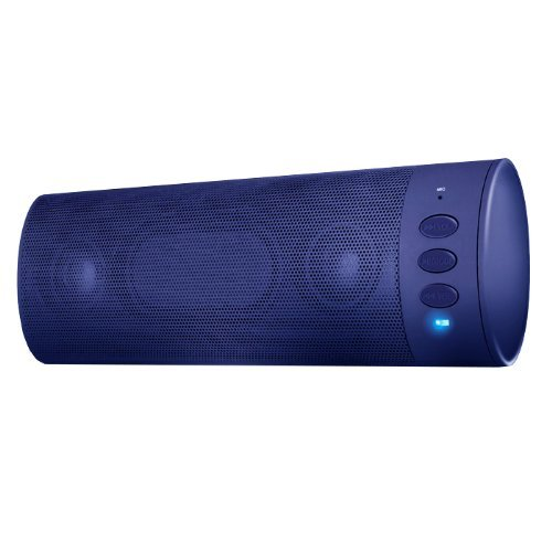 Vibe Sound Bluetooth Speaker With Portable Wireless For Samsung Galaxy S4/S3 And Iphone 5S/5C/4S - Retail Packaging - Blue