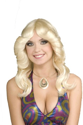 Forum Novelties Women's 70's Disco Doll Costume Wig