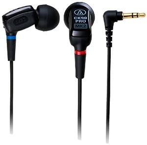audio-technica デュアル・バランスド・アーマチュア型インナーイヤーヘッドホン ATH-CK90PROMK2