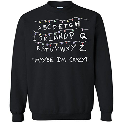 Stranger Things Light May Be I'm Crazy Christmas Sweater