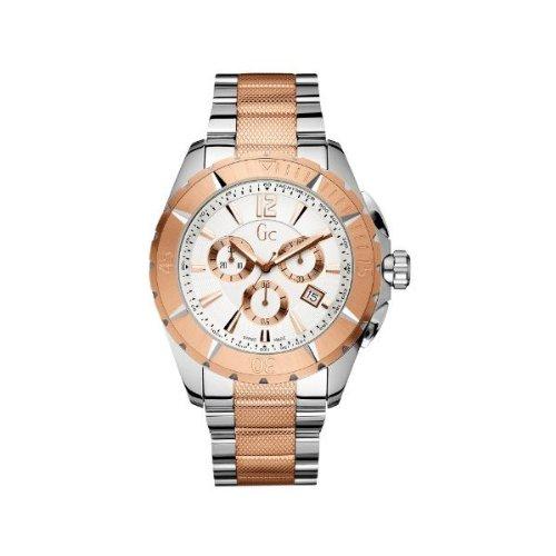 Gc Analog White Dial Men's Watch - X53002G1S