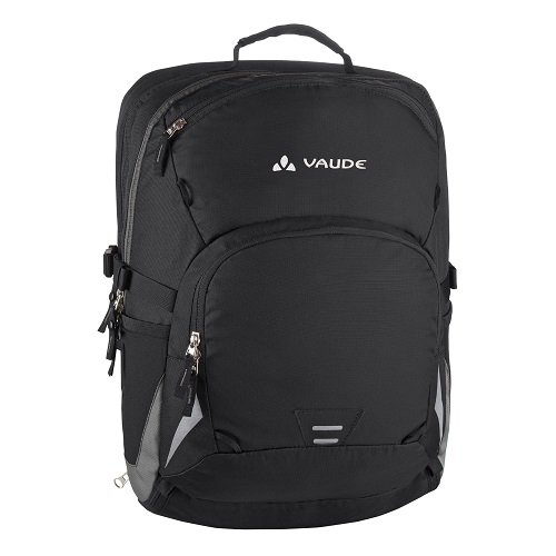 Vaude, Borsa Cycle, 47 x 34 x 24 cm, Nero (black/anthracite), 47 x 34 x 24 cm
