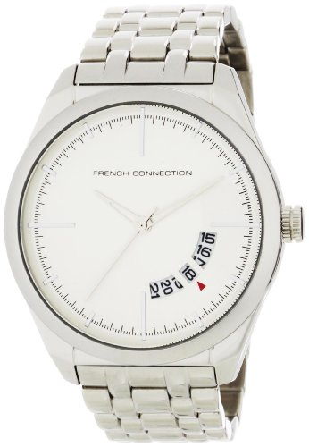 French Connection Men's FC1029S Stainless Steel Round Case Watch