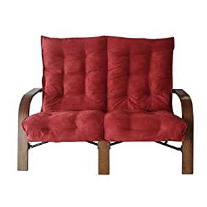 This dorm room loveseat adds style and for Bedroom furniture amazon