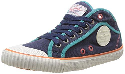 Pepe Jeans Industry Basic, Damen Sneaker  Blau Blau (588) 36