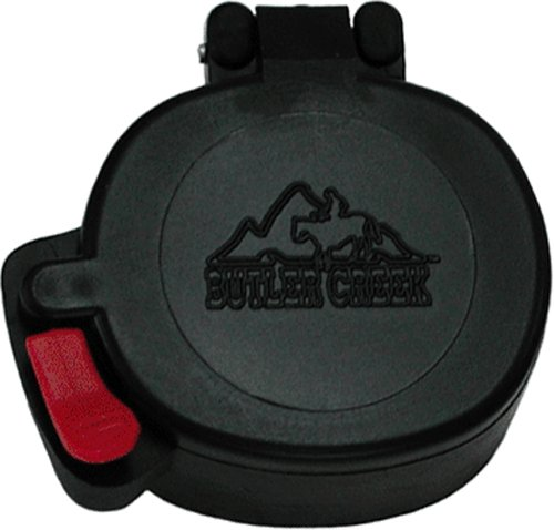 Butler Creek Flip-Open Oval Eyepiece Scope Cover, Size 15 (1.66X1.45-Inch, 42.2X36.8Mm)