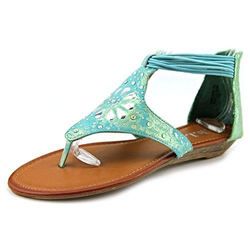 Rbls Women's Alleh Dress Sandal, Blue, 7 M US