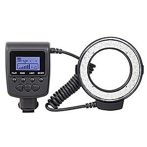 Dpower RF550E Macro 48 pcs LED Ring Flash Light for SONY A900 A850 A57 A77 A65 A37