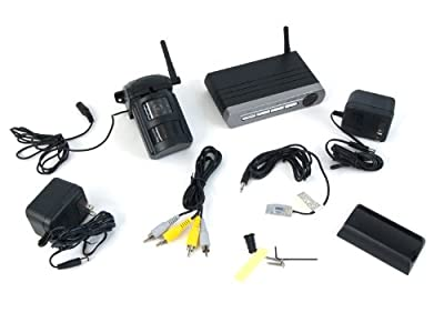 Homeland Security 850 Motion Activated Color Cam with Remote VCR Activation