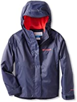 Columbia Girls 7-16 Adventure Seeker Rain Jacket, Nocturnal, XX-Small