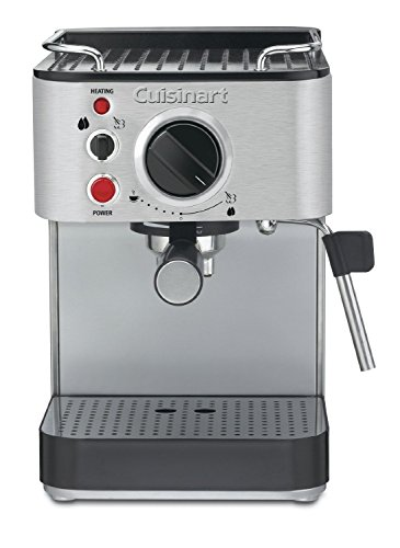 Cuisinart 15-Bar Espresso Maker with Steam Nozzle, Built-In Cup Warming Tray