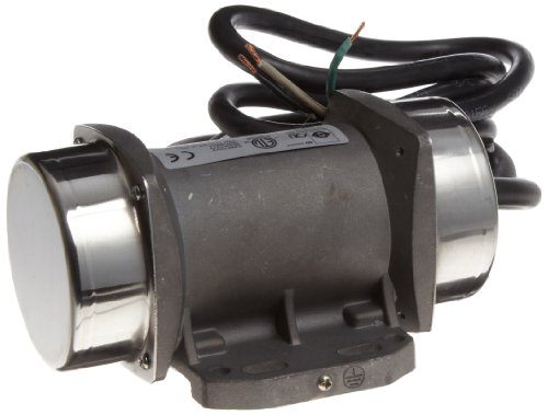 OLI Vibrator MVE.0006.36.115 Electric Vibrator Motor, Single Phase, 2 Poles, 3,600 RPM, 60 Hz, 115 Volt, 19.84 Lb Output Force (Single Phase Motor compare prices)