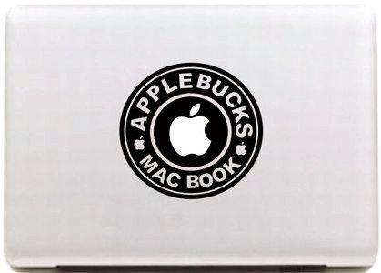 【haguruma store】macbook APPLEロゴ対応ステッカー(ワッペン)