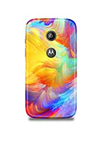 Colorful Pattern Moto E2 Case